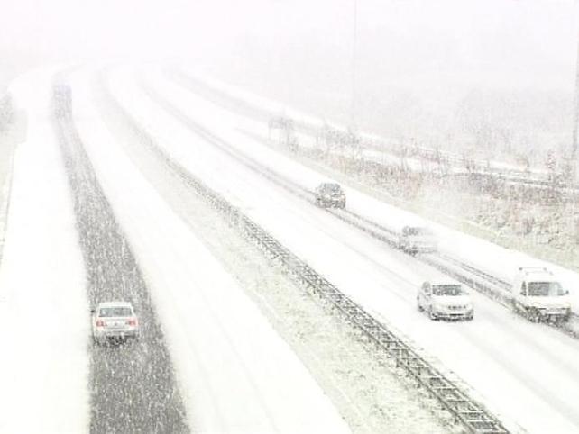 Sligo - Snow fall