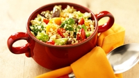 Couscous with Grilled Vegetables and a Middle Eastern Twist - A healthy dish to kick-start the new year, from Dr Eva Orsmond
