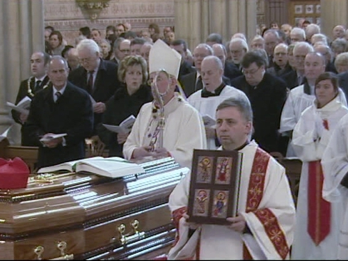 Armagh - Cardinal Seán Brady celebrated mass