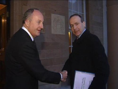 Woodward & Martin - Talks on Northern Ireland