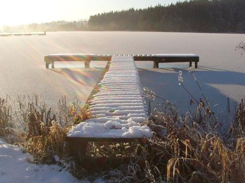 Leitrim - Frozen lake - (Pic: Kathleen Reynolds)