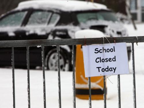 Schools - Closed until next Thursday