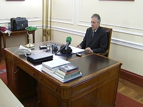 Peter Robinson - Temporarily stepped down as First Minister
