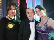 Meryl Mole, Eddie Redmond & Caroline Worthington