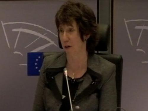 Catherine Ashton - To visit Gaza next week