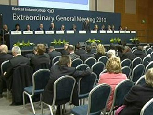 BoI EGM - Vote on plans to raise €3.4 billion cleared
