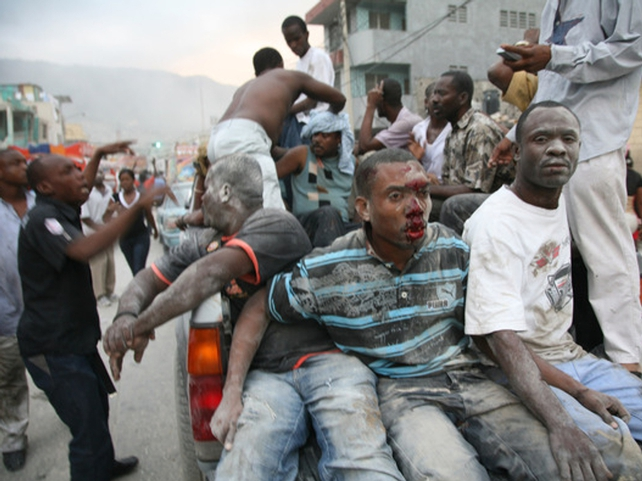 Haiti - Thousands homeless