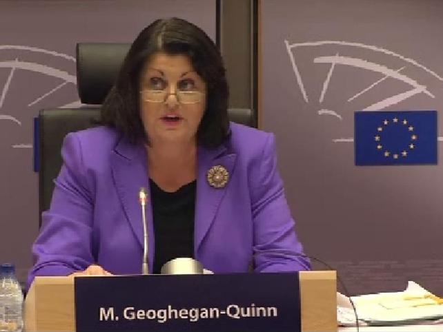 Máire Geoghegan-Quinn  - Contacted Minister for Finance Brian Lenihan