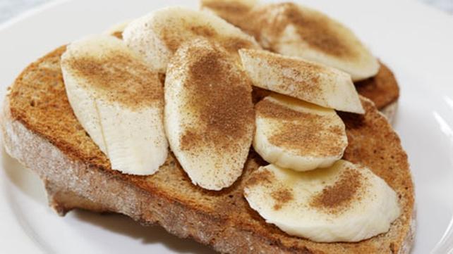 Nutty Banana Toast