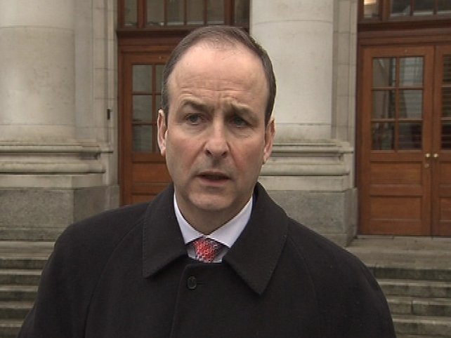Micheál Martin - Security of citizens at risk