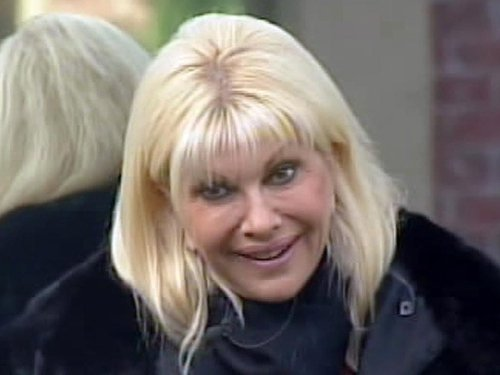 Ivana Trump - Survived eviction vote