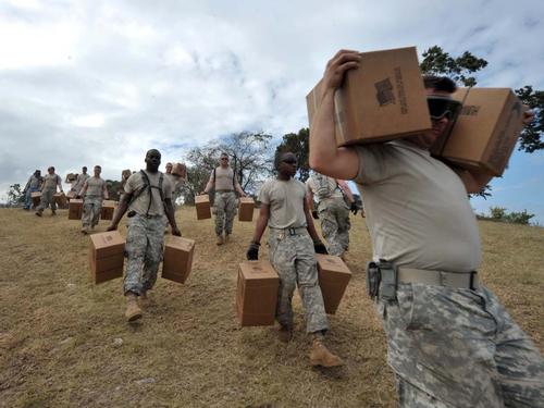 Haiti - Progress in relief operation