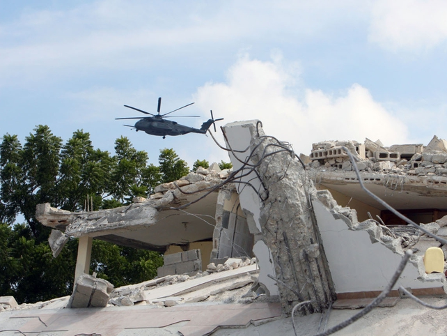Haiti - Hundreds of schools collapsed during the earthquake