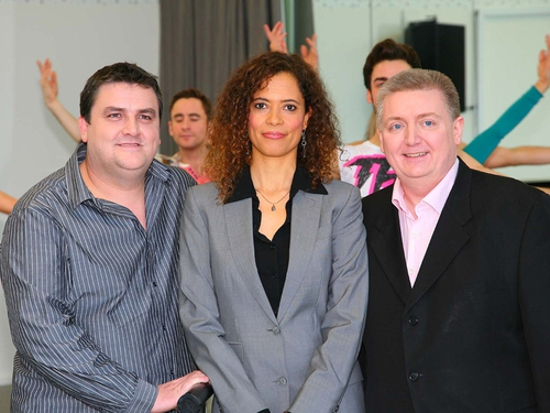 The judges for new TV show Fame The Musical