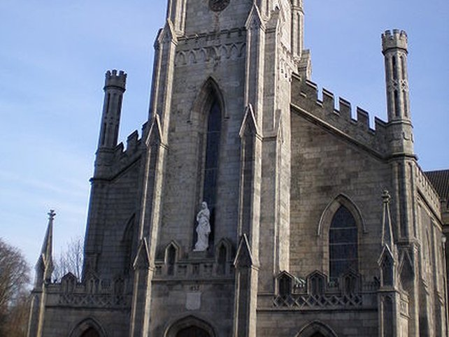 Carlow Cathedral - Baby left in porch