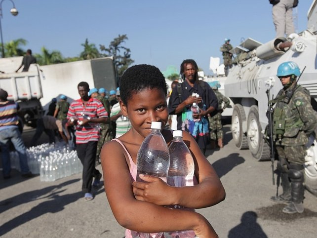 Haiti - Aid is beginning to get through to those in need
