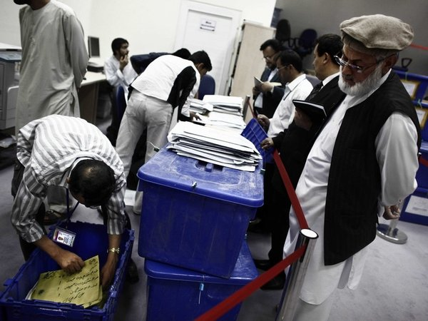 Afghanistan - Fraud allegations during presidential election