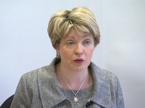 Mary Coughlan - Urged dialogue with Ryanair