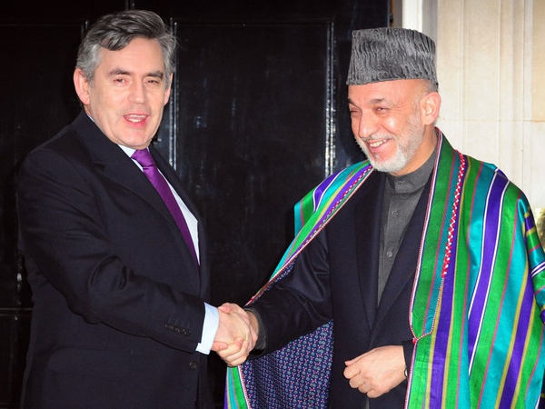 Brown & Karzai - One-day conference in London