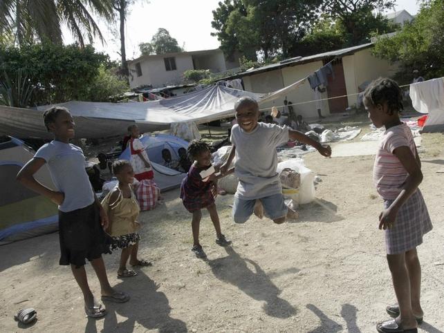 Haiti - Some children will be returning to school next week
