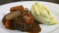 Braised Shoulder of Lamb with Champ - Neven Maguire serves up a delicious shoulder of Irish Lamb.