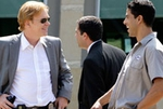David Caruso as Horatio Caine and Adam Rodriquez as Eric Delko