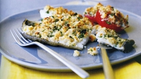 Fillet of Plaice, with Minted Peas and Smoked Bacon - Try Oliver Dunne's tasty fish dish.