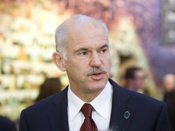George Papandreou - Says his country is not looking for a bailout