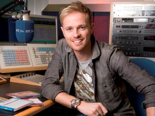 Nicky Byrne - set for 2fm gig