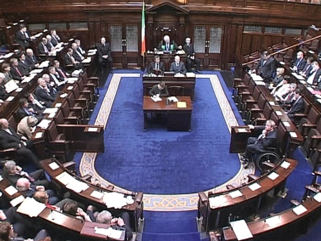 Dáil - Discussed Hangar 6