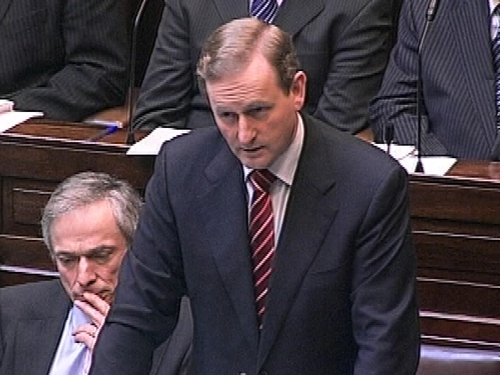 Fine Gael - Support for party at 34%