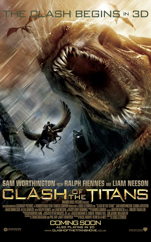 Clash of the Titans - Released on Friday, 2 April