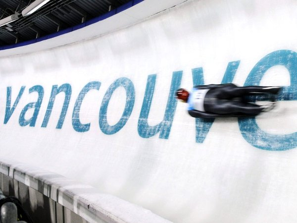 The luge track at Whistler is regarded as the fastest in the world