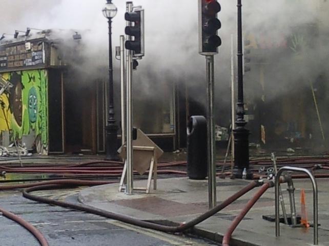 Capel Street - Homes evacuated