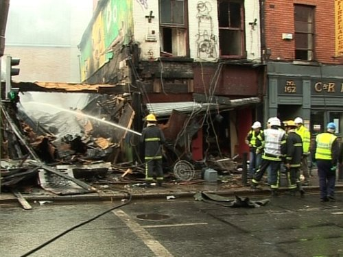 Capel Street - Shops destroyed