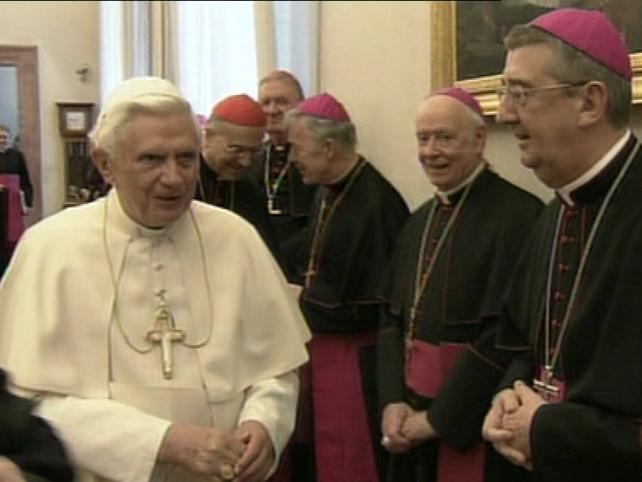 Vatican - Pope meets 24 Irish bishops
