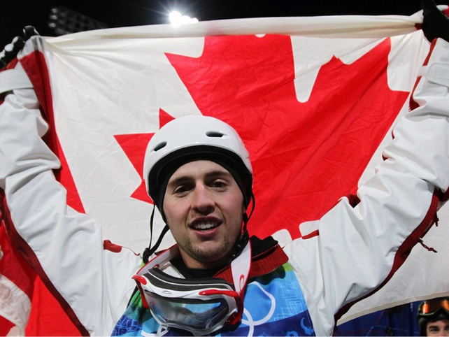 Alexandre Bilodeau claimed gold for Canada