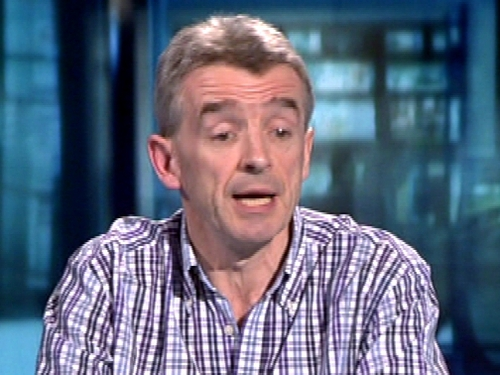 Michael O'Leary - 'Humility would be appropriate'