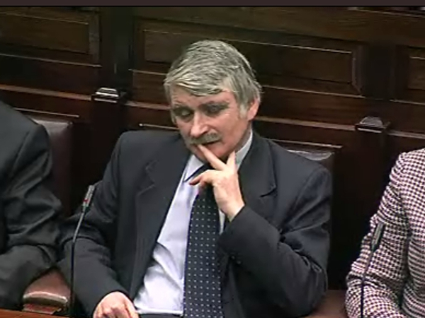 Willie O'Dea - Made statement to Dáil
