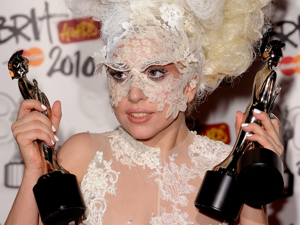 Lady Gaga - Won in all her categories