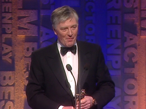 Pat Kenny - Accepted award at last night's ceremony