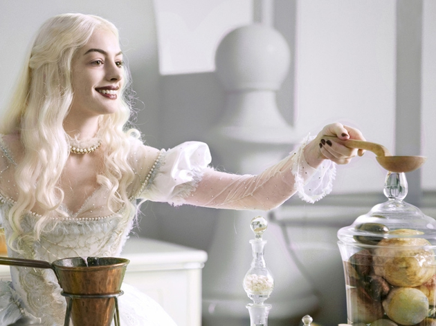 Anne Hathaway as The White Queen