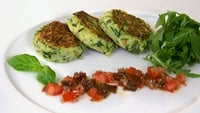 Courgette rosti - A delicious way of cooking courgettes.