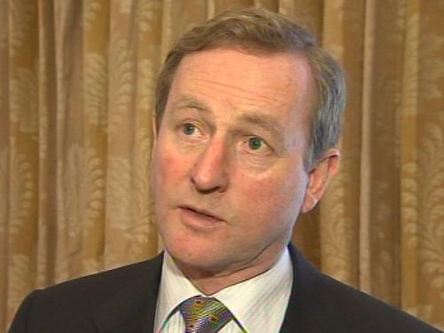 Enda Kenny - Poll questions on leadership