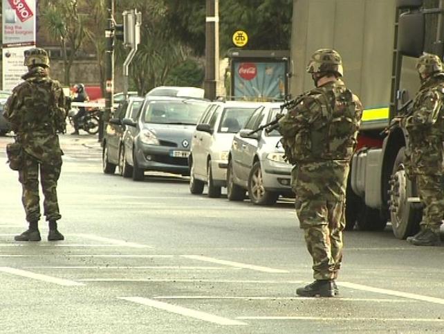 Israeli Embassy - Area sealed off