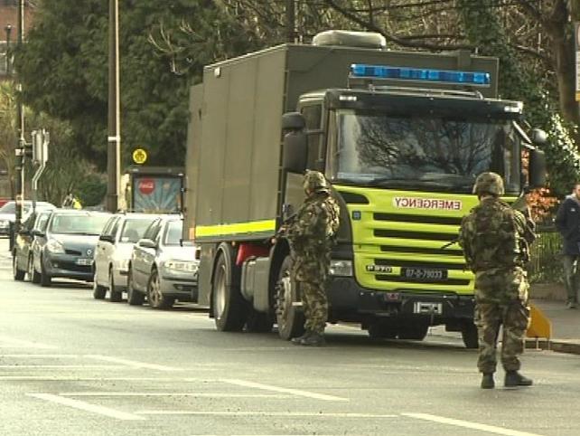Israeli Embassy - Explosive Ordnance Disposal team has arrived