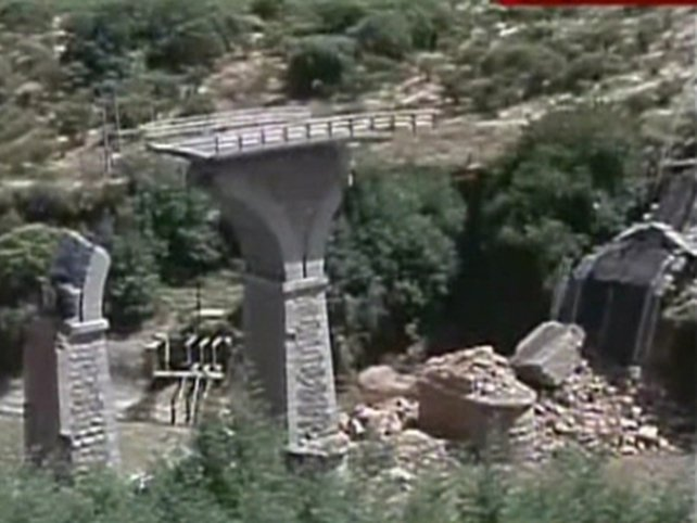 Chile - Damage to infrastructure