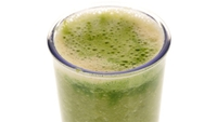 Green Smoothie with Seaweed - A smoothie that's packed full of healthy ingredients.