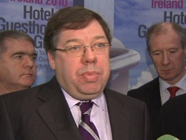 Brian Cowen - No plan to increase retirement age