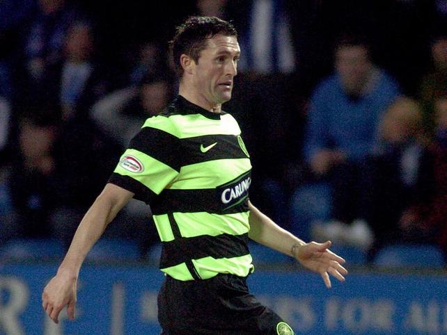 Robbie Keane scored again for Celtic